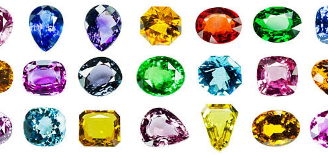 gemstones colored guide